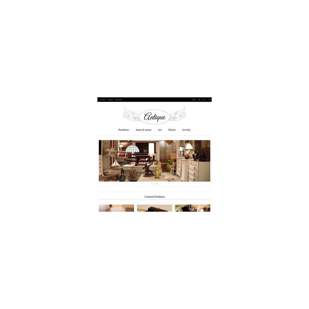 theme - Hogar y Jardín - Responsive Antiques Store - 3