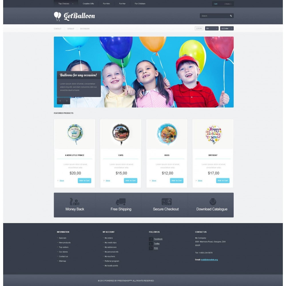 theme - Kinder & Spielzeug - Responsive Balloons Store - 4