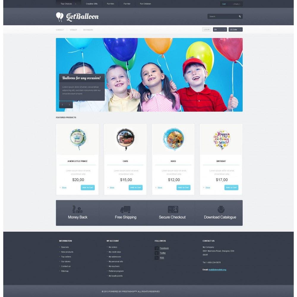 theme - Дети и Игрушки - Responsive Balloons Store - 4