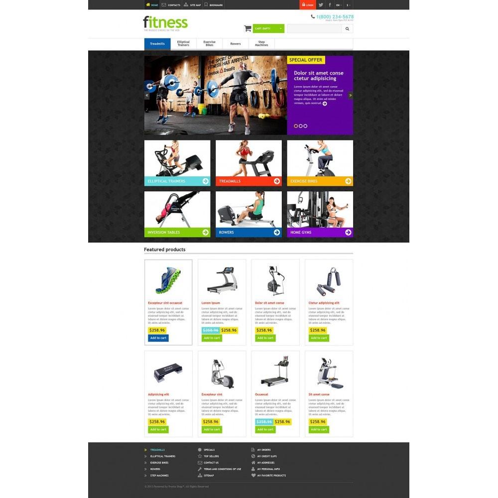 theme - Sport, Rozrywka & Podróże - Responsive Fitness Store - 2