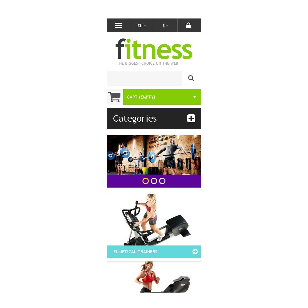 theme - Sport, Loisirs & Voyage - Responsive Fitness Store - 9