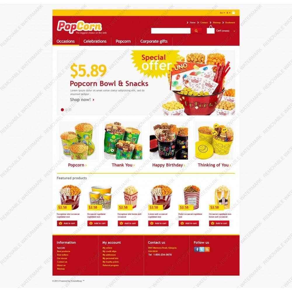 theme - Food & Restaurant - Responsive Pop Corn Store - 5