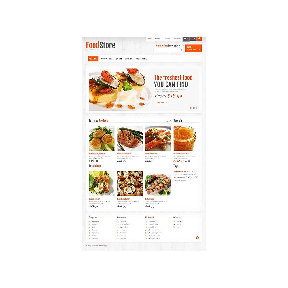 theme - Alimentation & Restauration - Responsive Food Store - 10