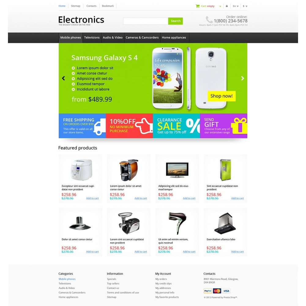 theme - Elektronica & High Tech - Responsive Electronics Store - 2