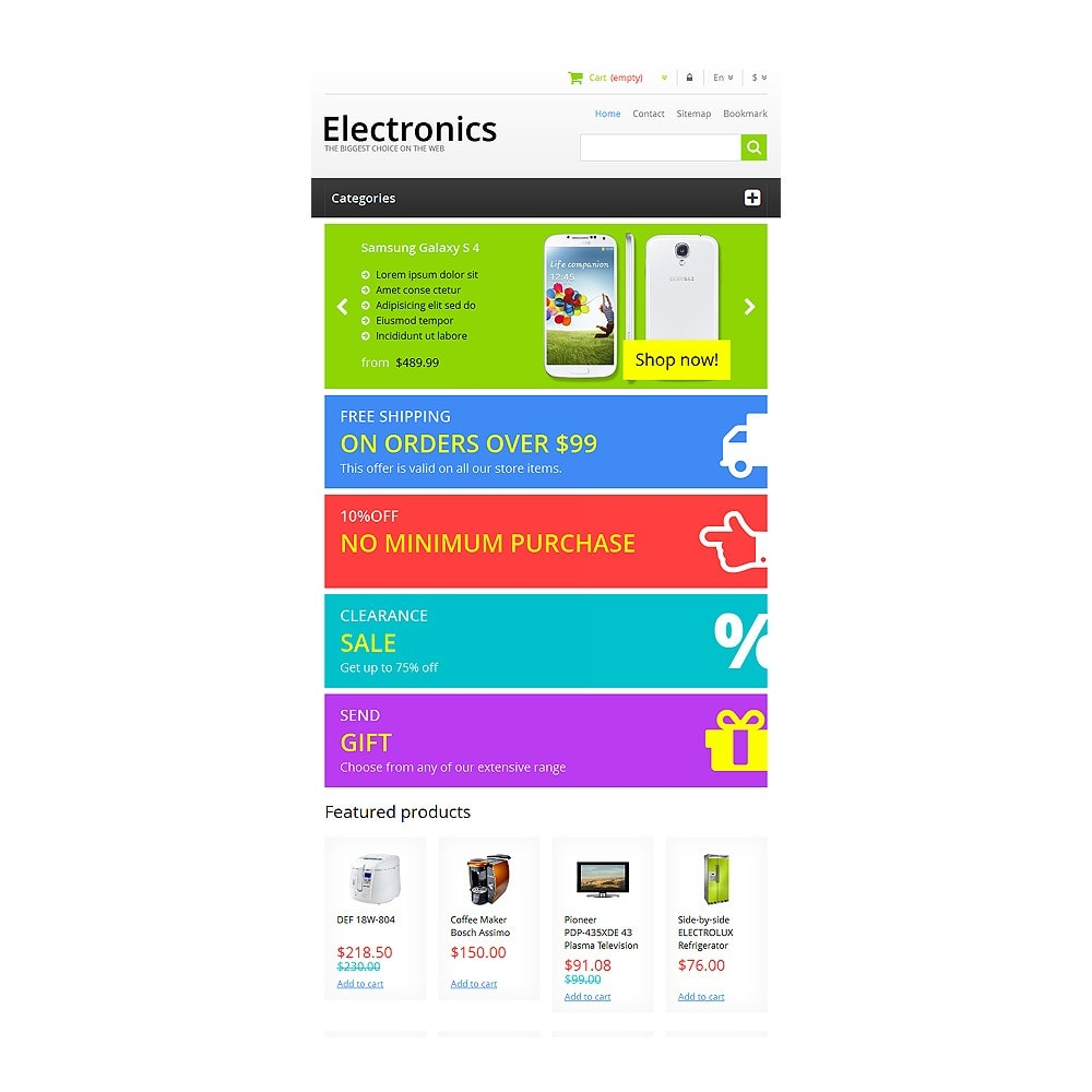 theme - Elektronica & High Tech - Responsive Electronics Store - 8