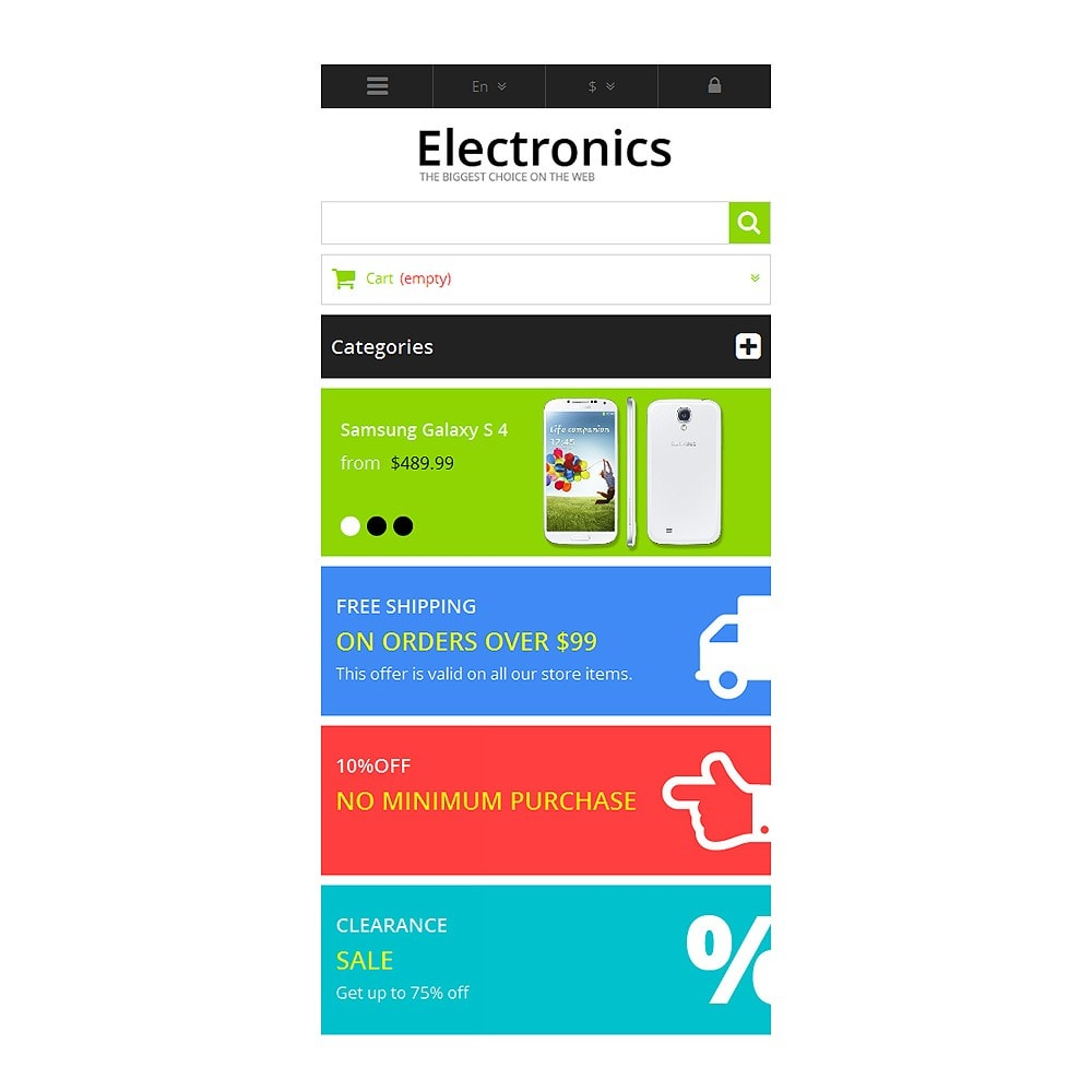 theme - Electronique & High Tech - Responsive Electronics Store - 9