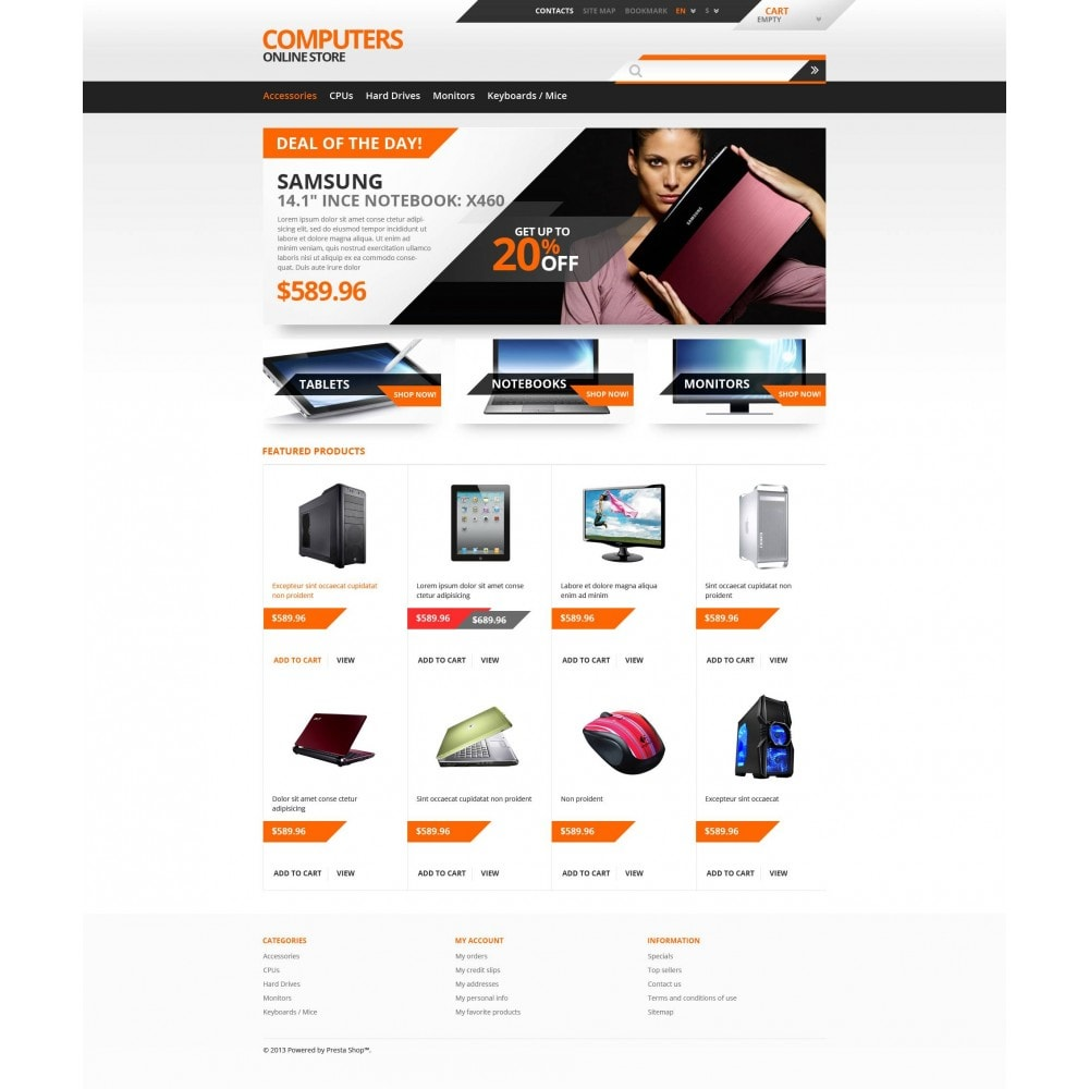 theme - Elektronica & High Tech - Responsive Computers Store - 4