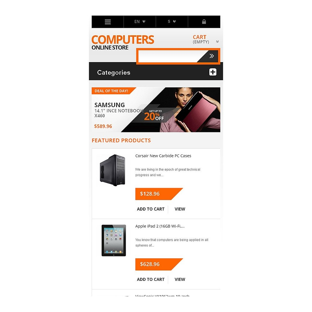 theme - Electronics & Computers - Responsive Computers Store - 8