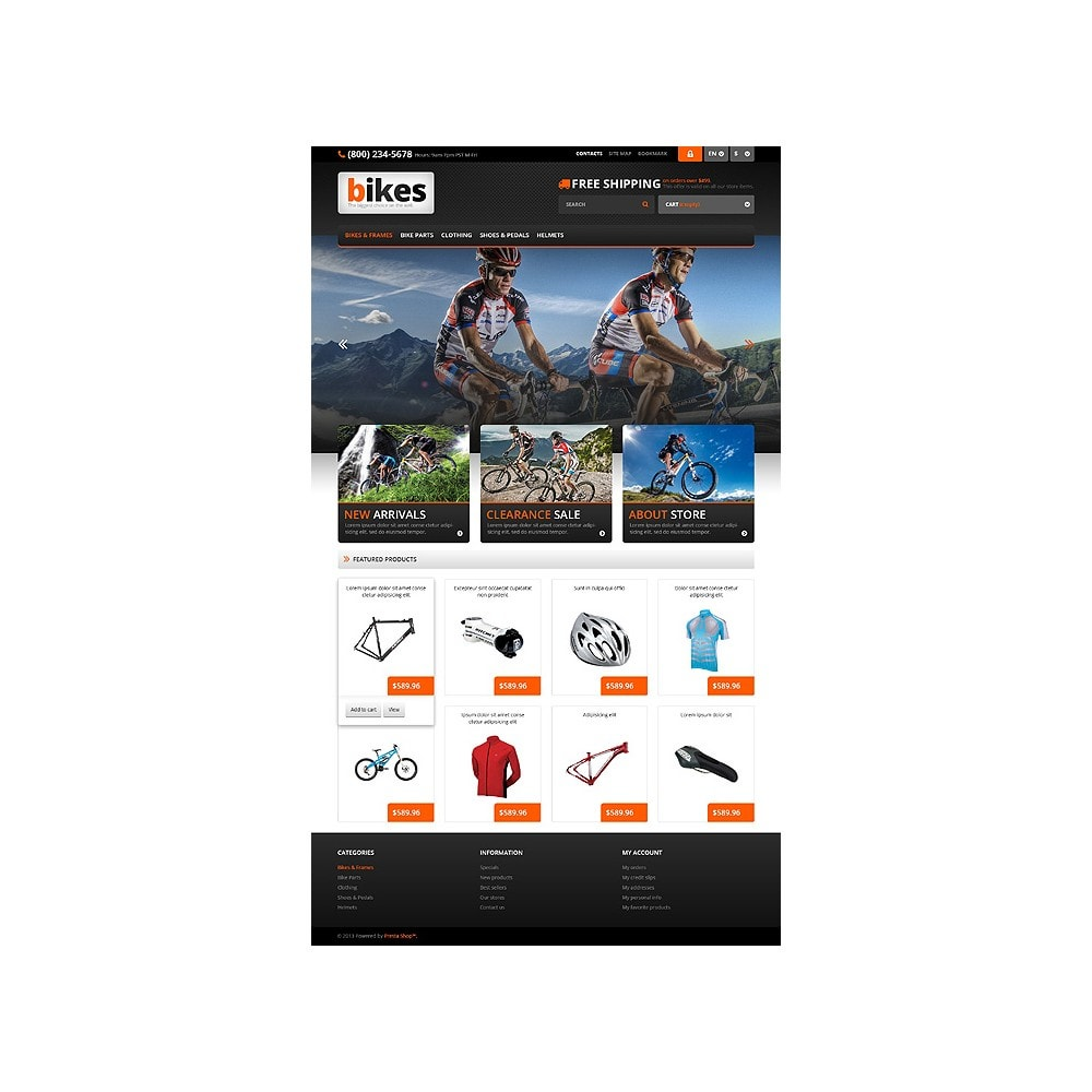 theme - Sport, Loisirs & Voyage - Responsive Bikes Store - 10