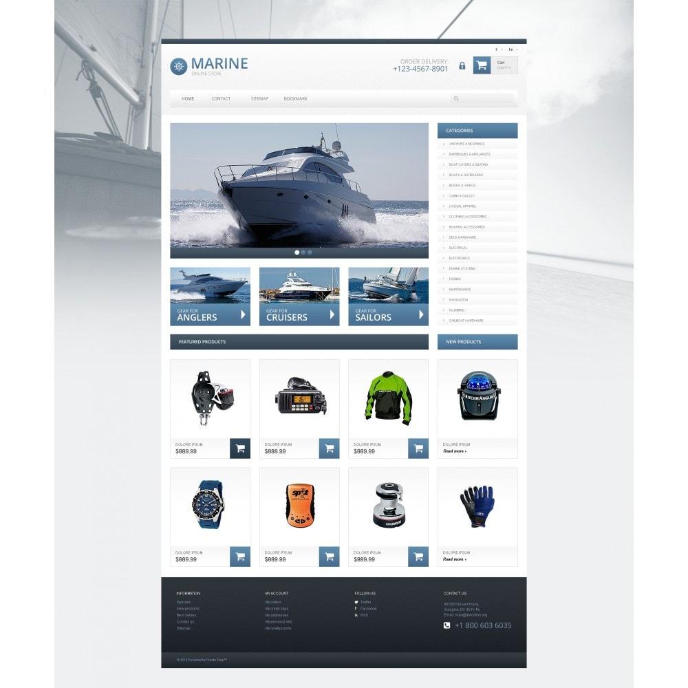 theme - Sport, Loisirs & Voyage - Responsive Marine Store - 4