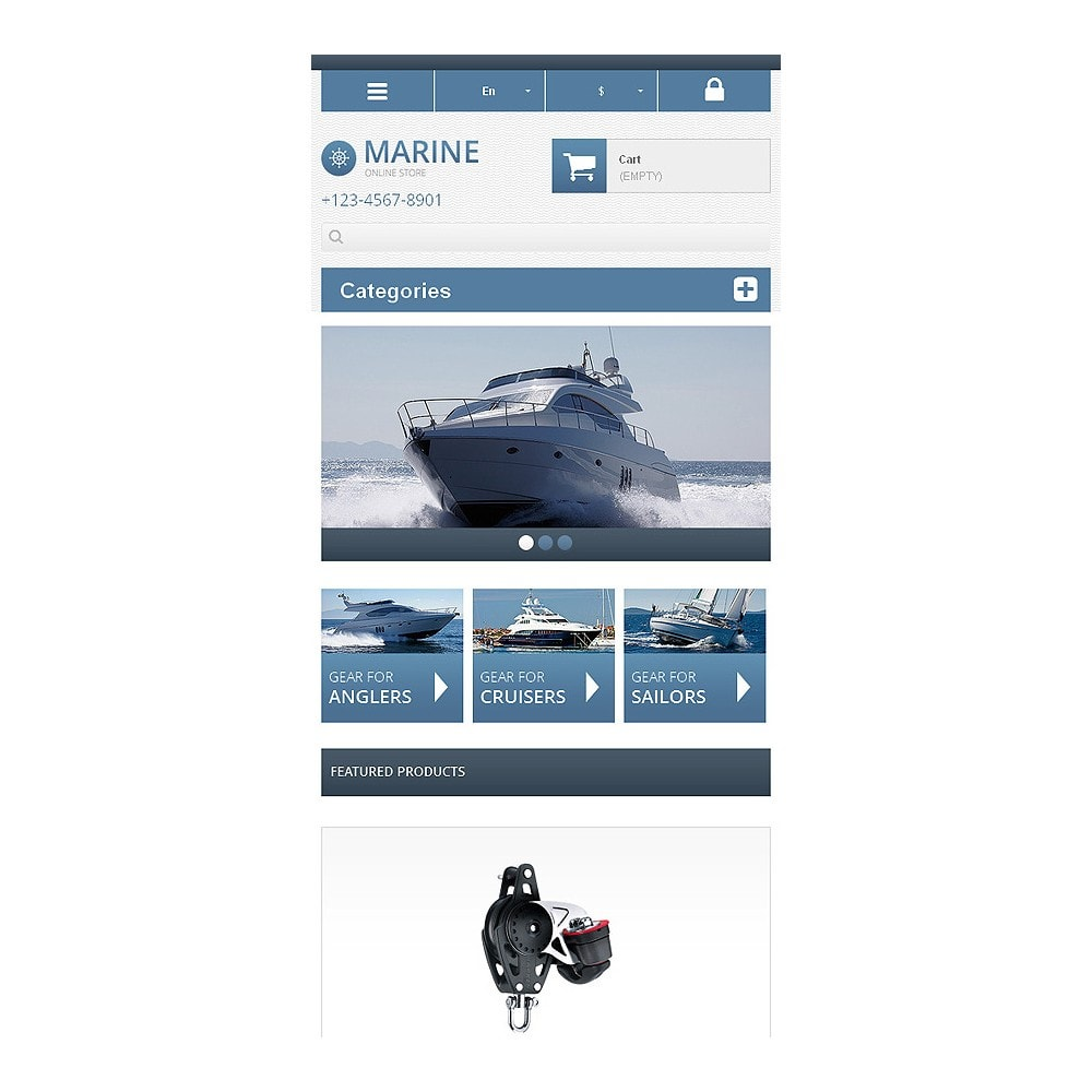theme - Sports, Activities & Travel - Responsive Marine Store - 9