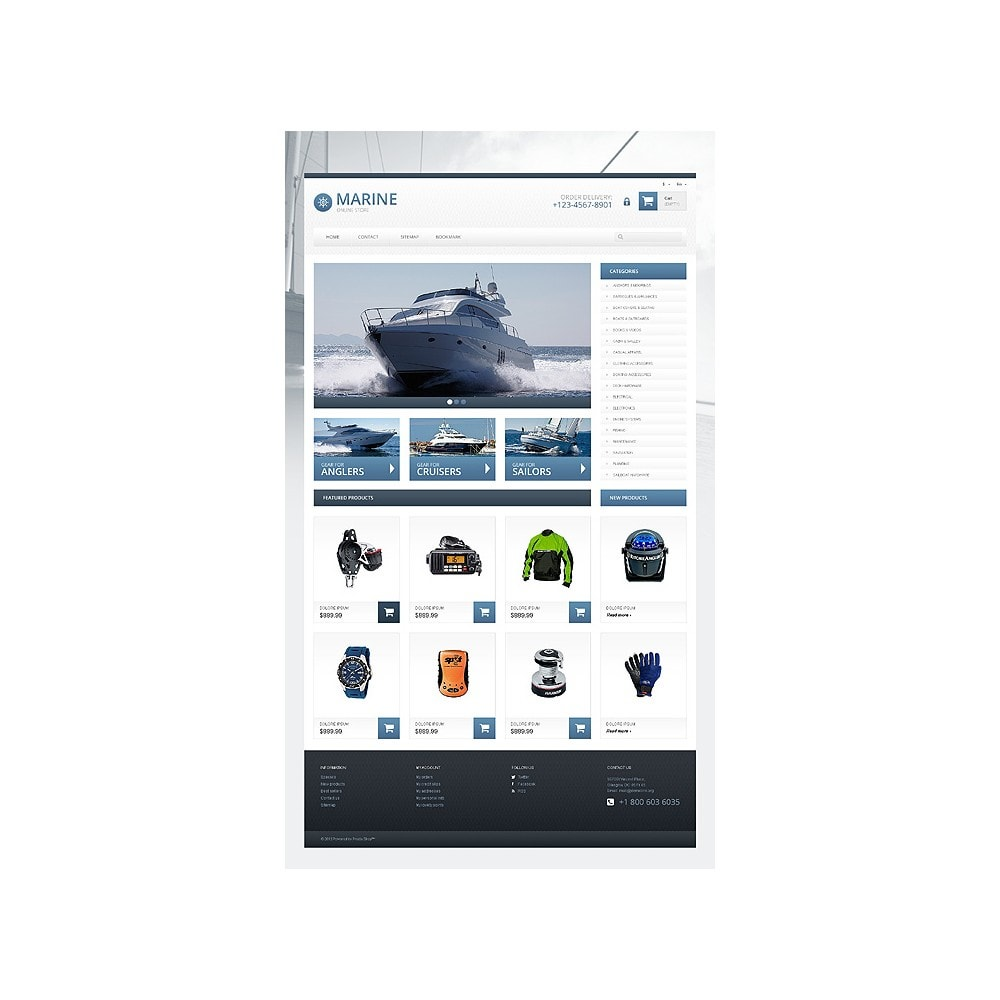theme - Sports, Activities & Travel - Responsive Marine Store - 10