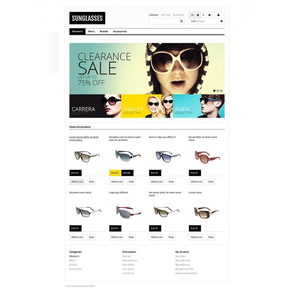 Responsive Sunglasses Store