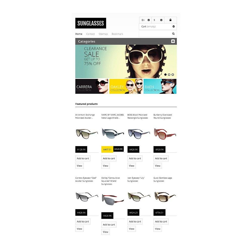 theme - Moda & Calzature - Responsive Sunglasses Store - 7