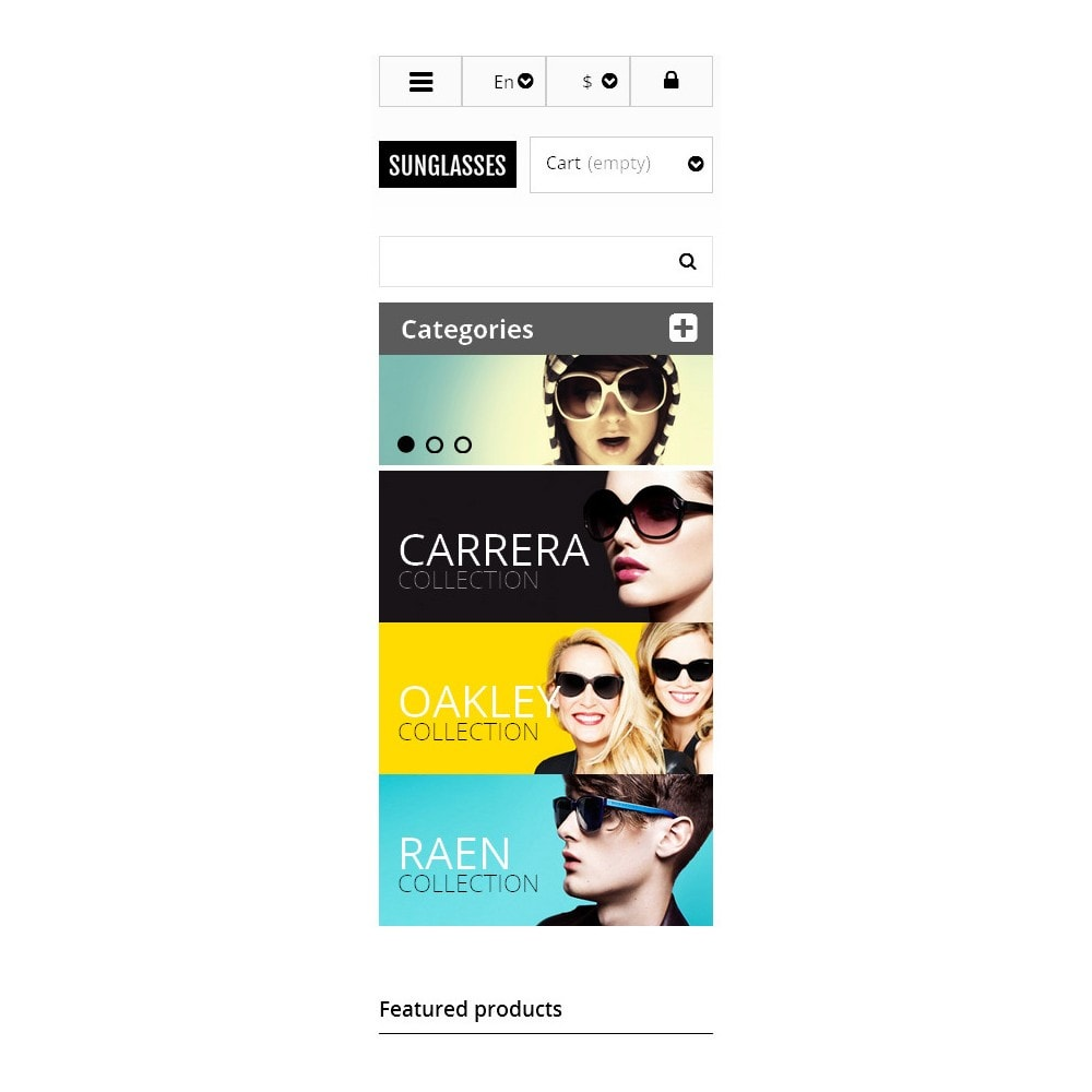 theme - Mode & Schuhe - Responsive Sunglasses Store - 9