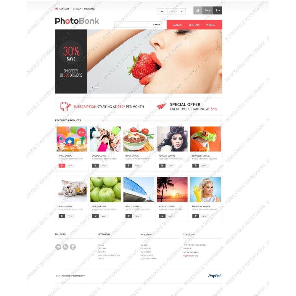 theme - Arte y Cultura - Responsive Photo Bank - 3