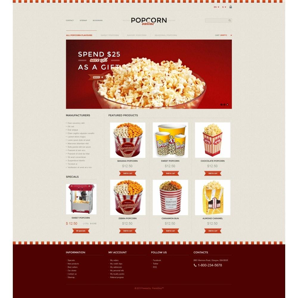 theme - Продовольствие и рестораны - Responsive Popcorn Store - 4