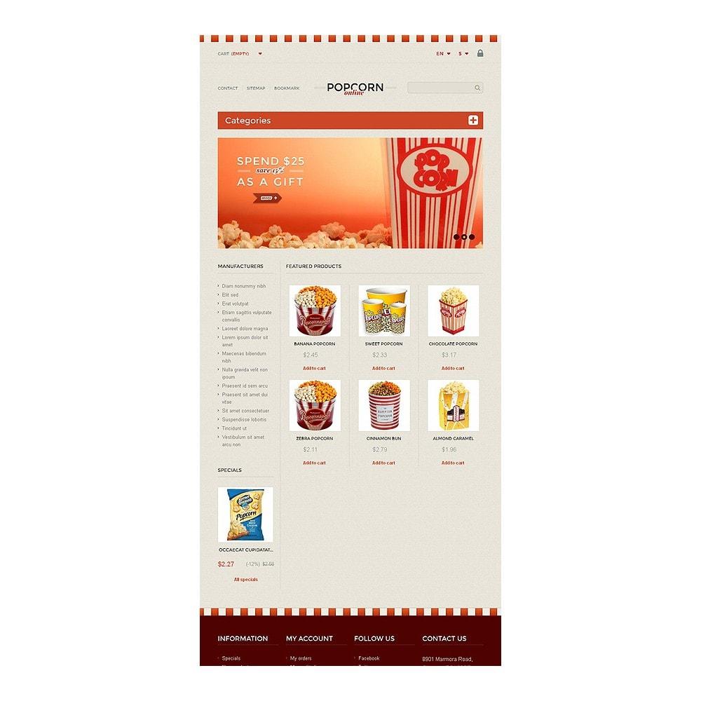 theme - Alimentation & Restauration - Responsive Popcorn Store - 7