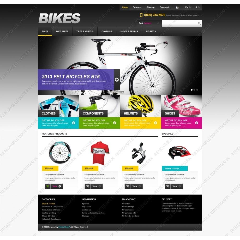Responsive Bikes Store