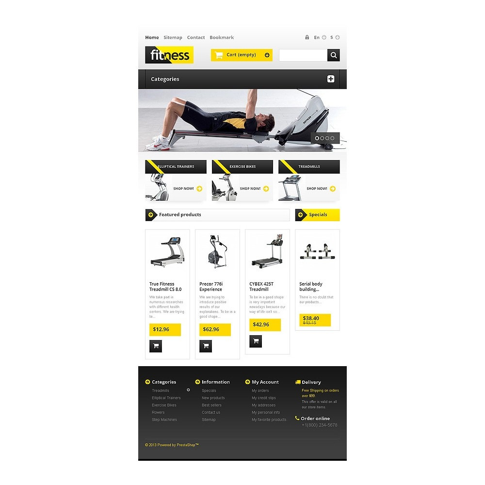 theme - Sports, Activities & Travel - Responsive Fitness Store - 7