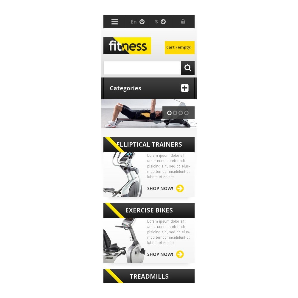 theme - Sports, Activities & Travel - Responsive Fitness Store - 9