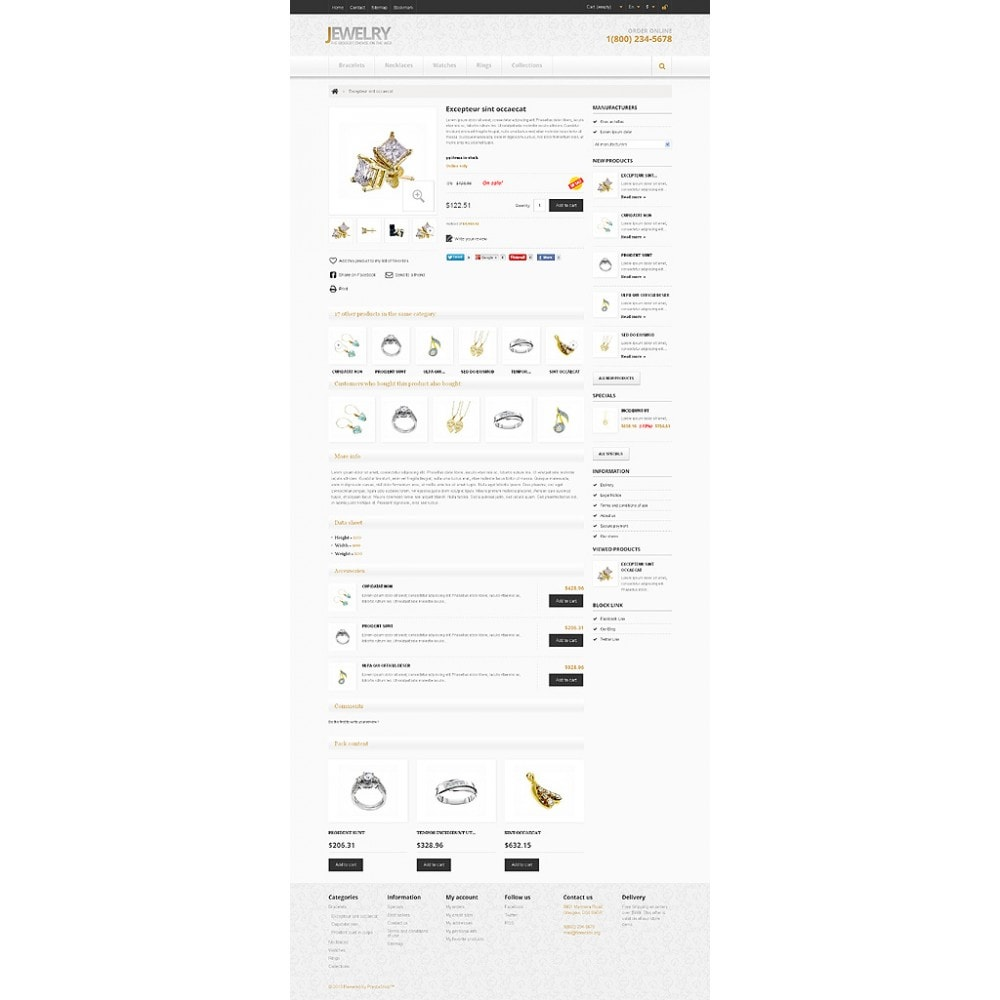 theme - Fashion & Shoes - Responsive Jewelry Store - 7