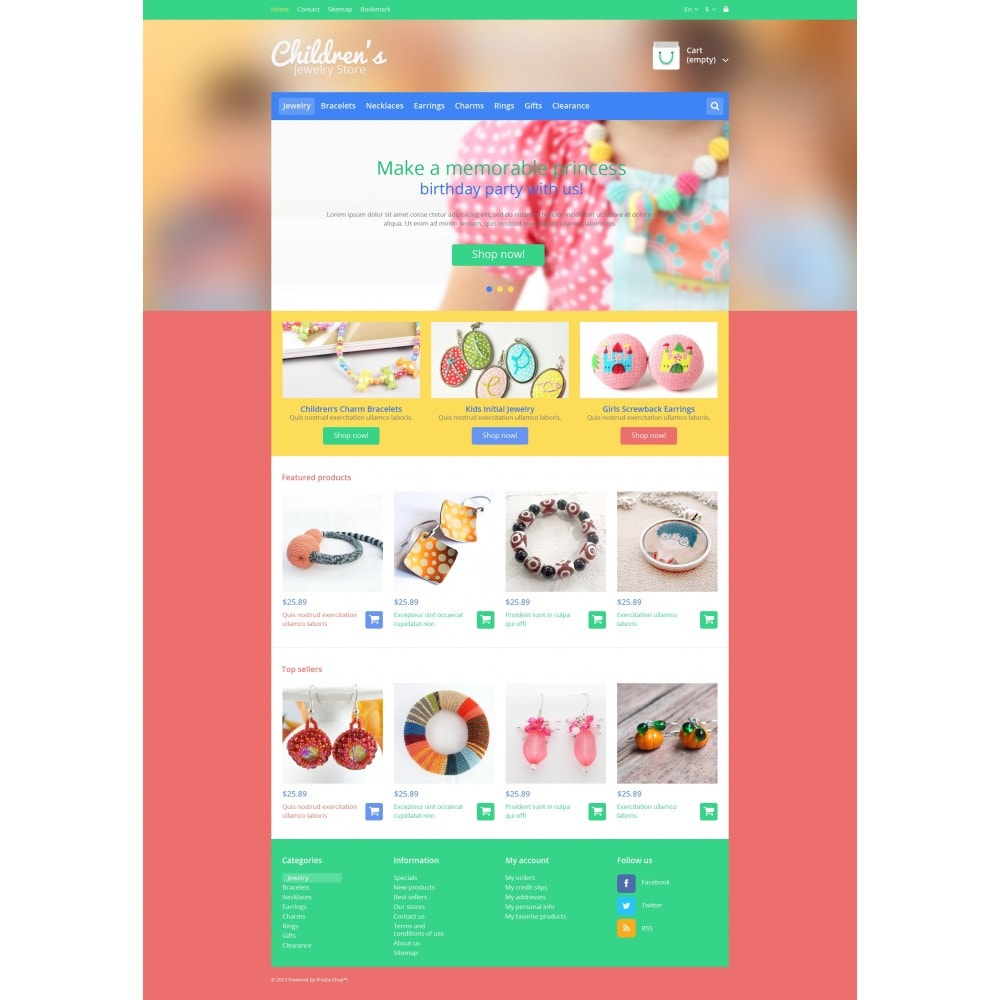theme - Moda y Calzado - Children's Jewelry Store - 4