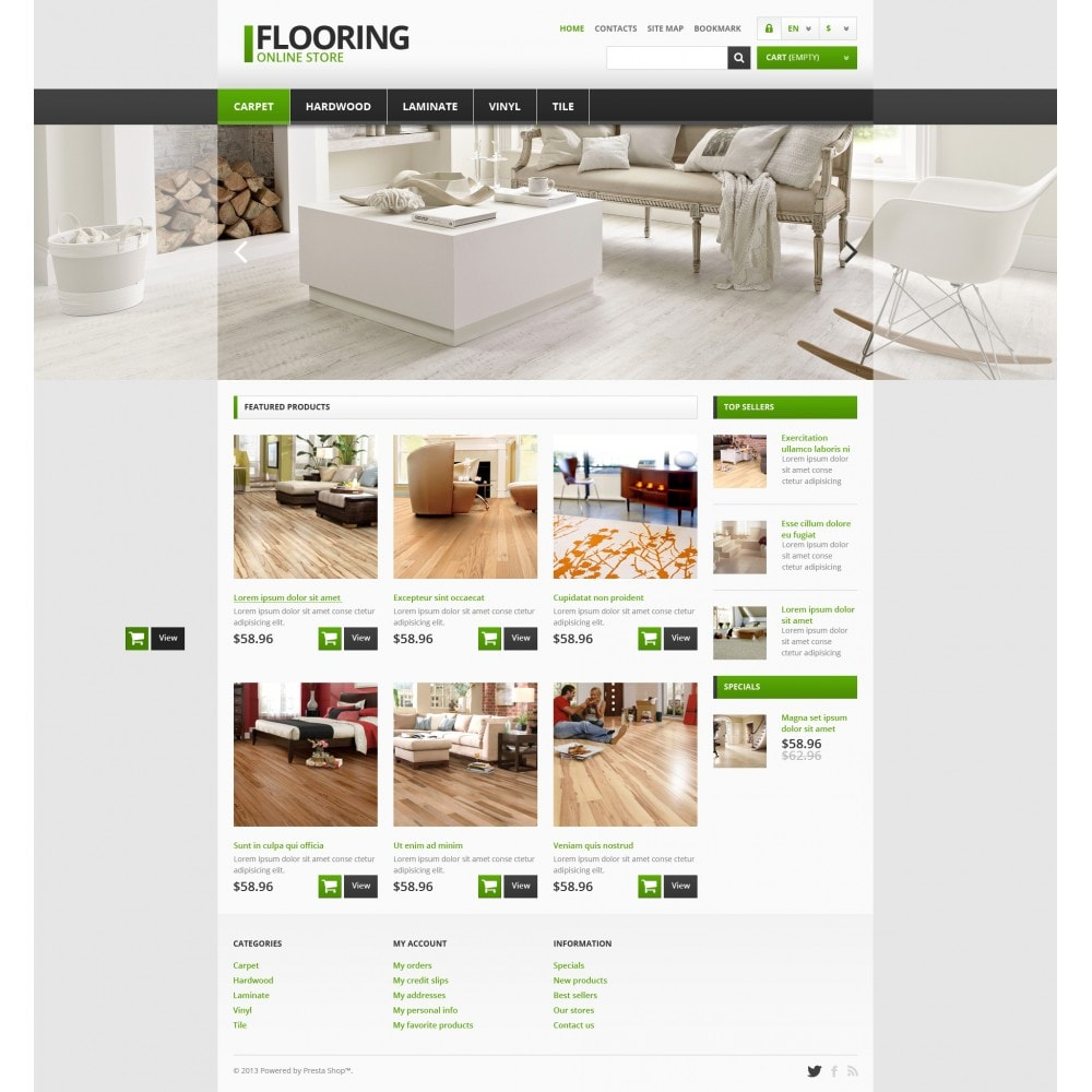 theme - Art & Culture - Responsive Flooring Store - 4