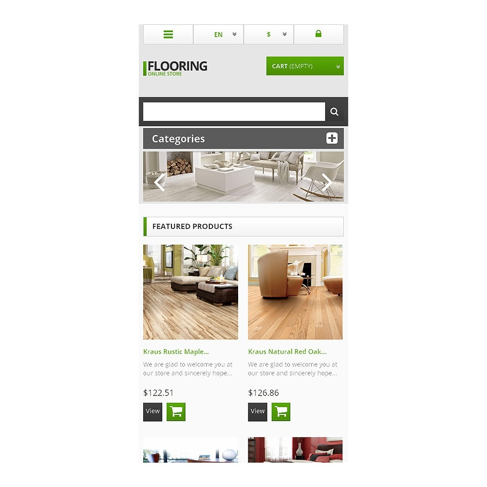 theme - Art & Culture - Responsive Flooring Store - 8