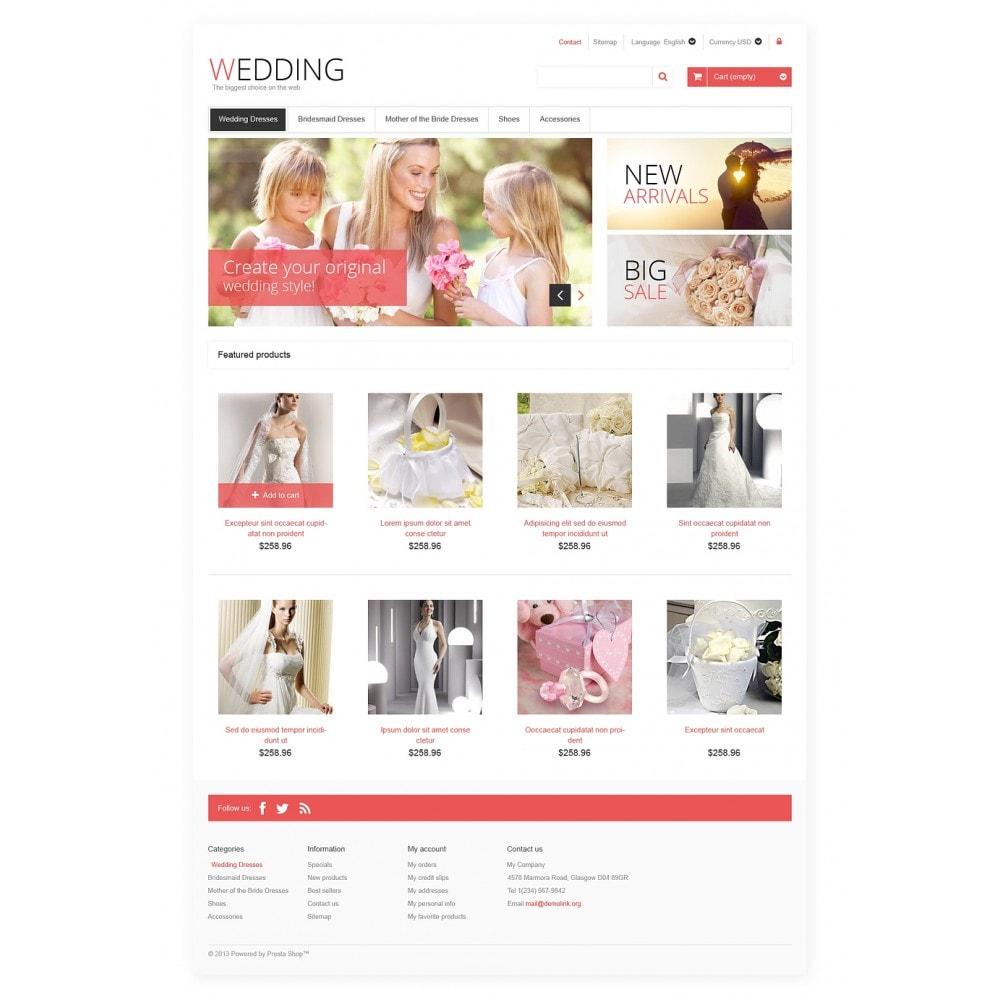 Responsive Wedding Store