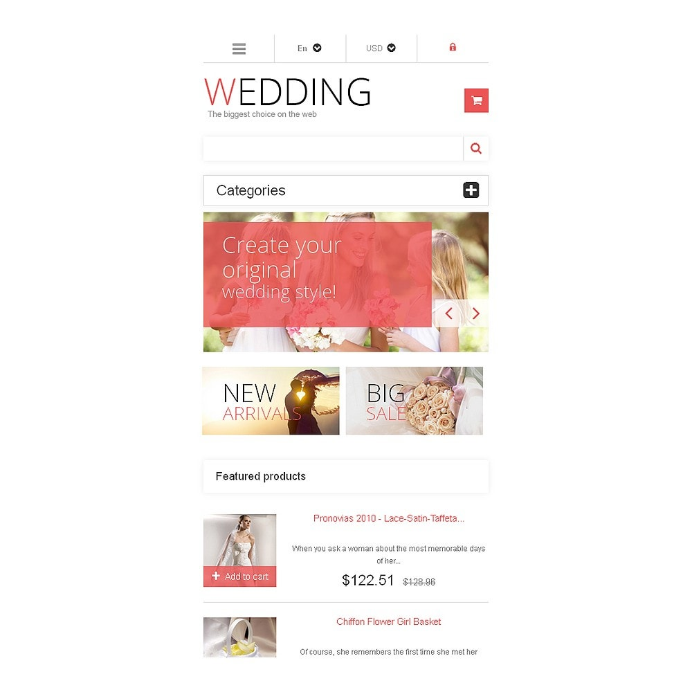 theme - Mode & Schuhe - Responsive Wedding Store - 8