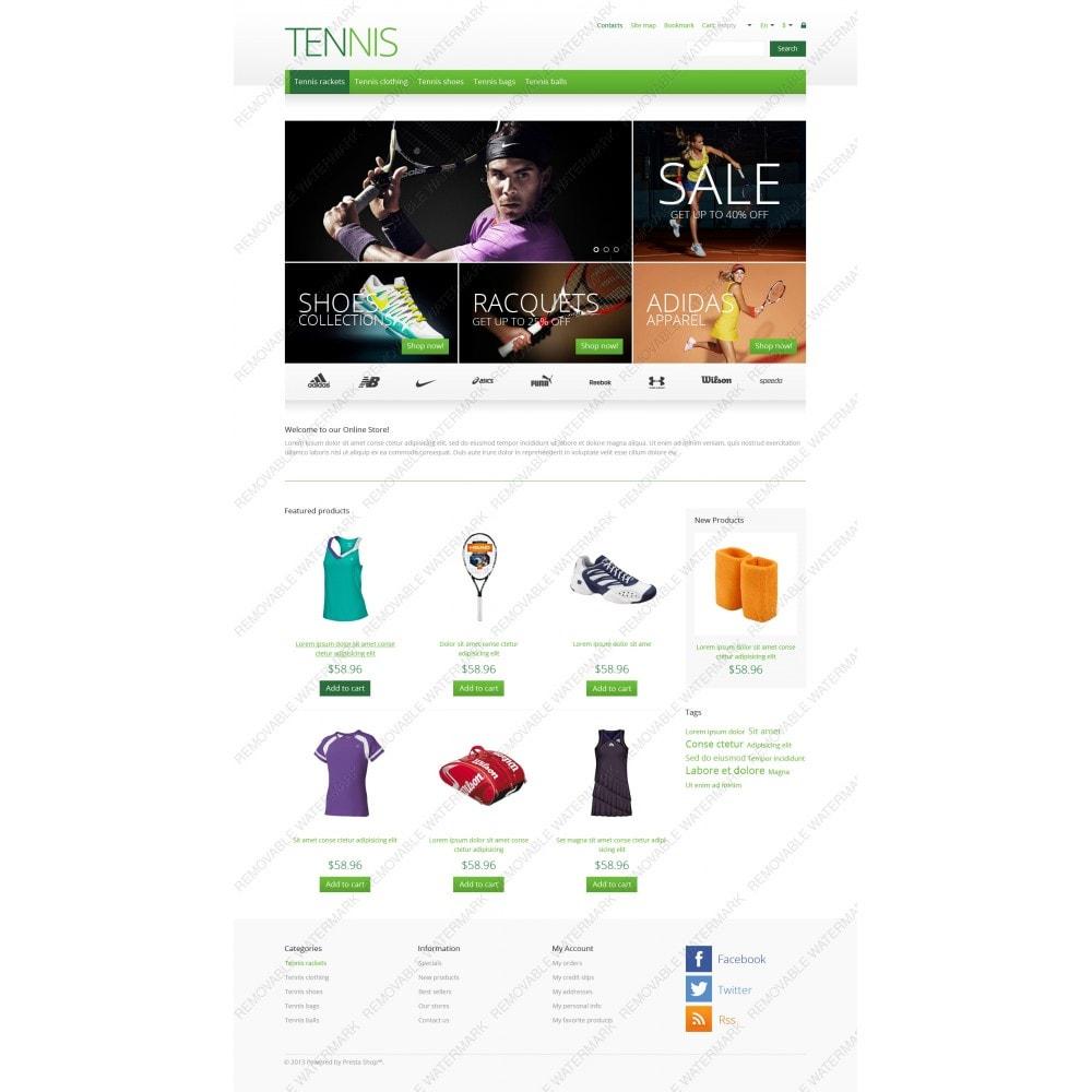 theme - Deportes, Actividades y Viajes - Responsive Tennis Store - 5