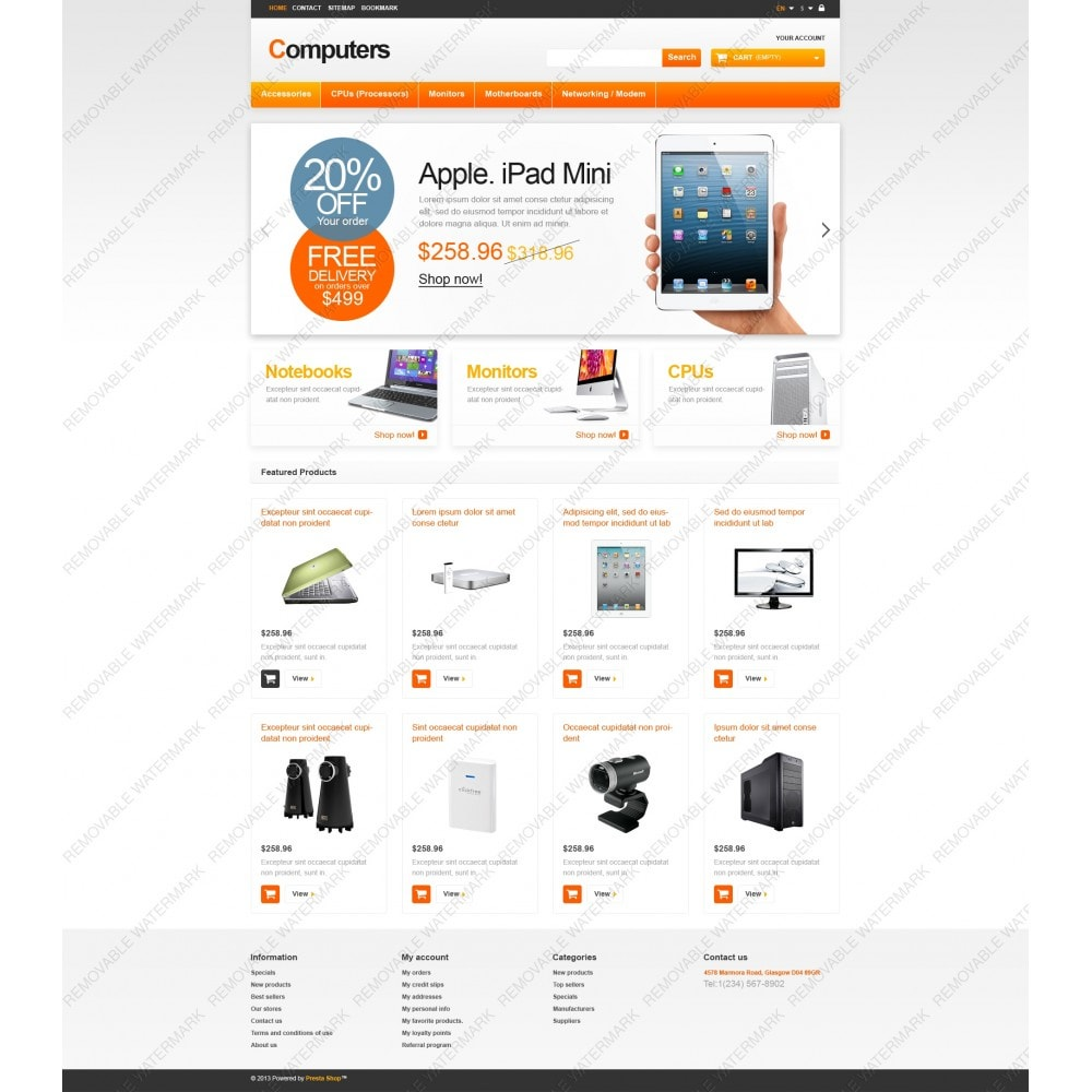 theme - Electrónica e High Tech - Responsive Computers Store - 5