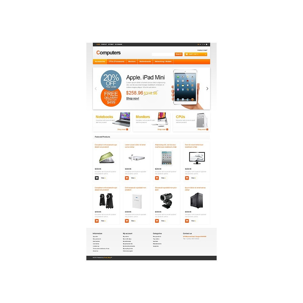 theme - Electronique & High Tech - Responsive Computers Store - 10