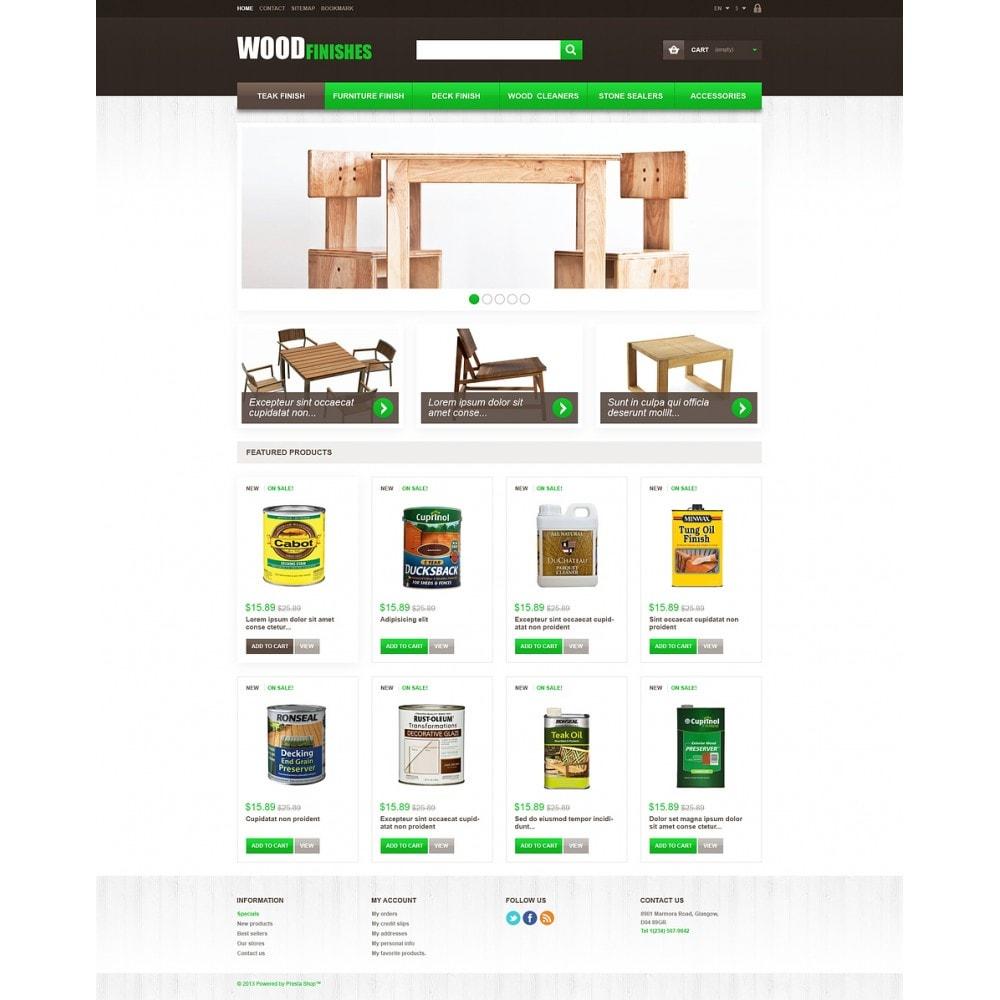 theme - Kunst & Kultur - Wood Finishes - 2