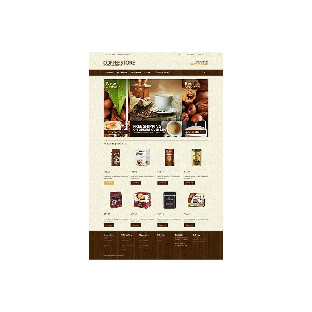 theme - Продовольствие и рестораны - Responsive Coffee Store - 10