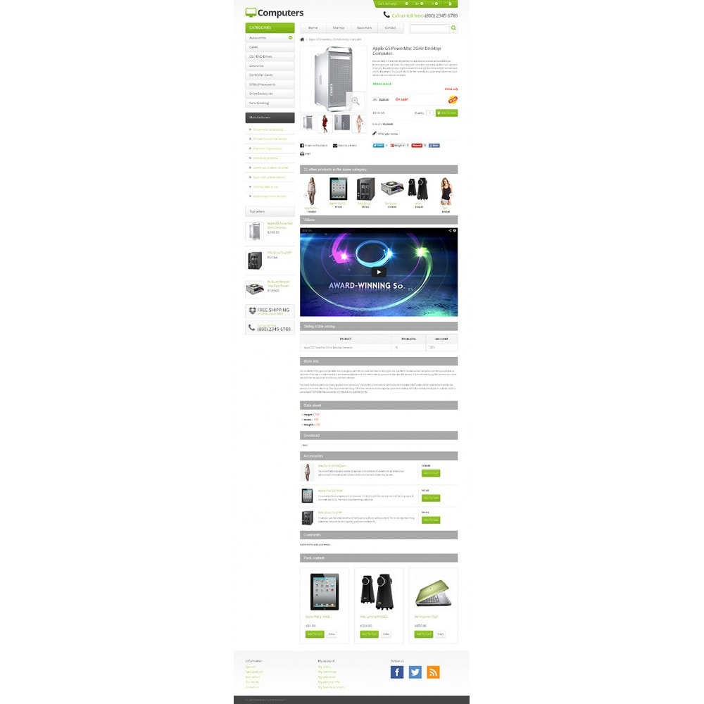 theme - Elektronik & High Tech - Responsive Computers Store - 6