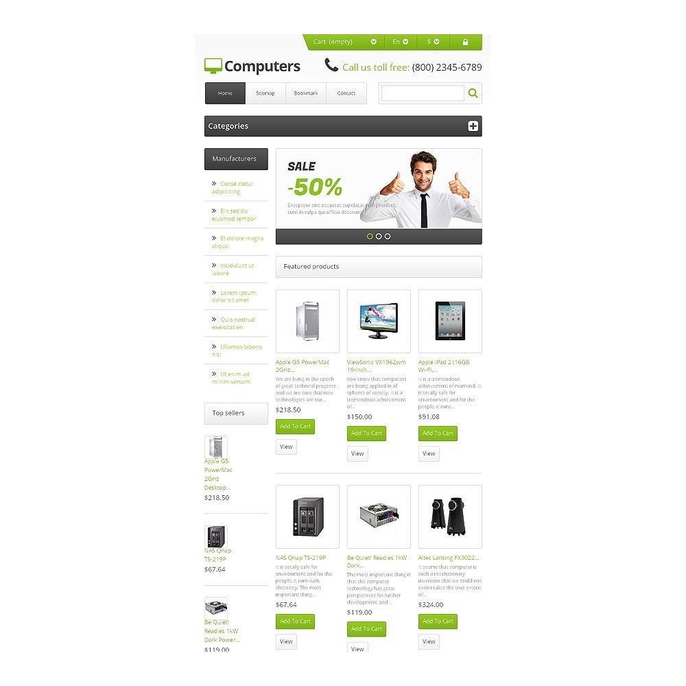 theme - Elektronica & High Tech - Responsive Computers Store - 7