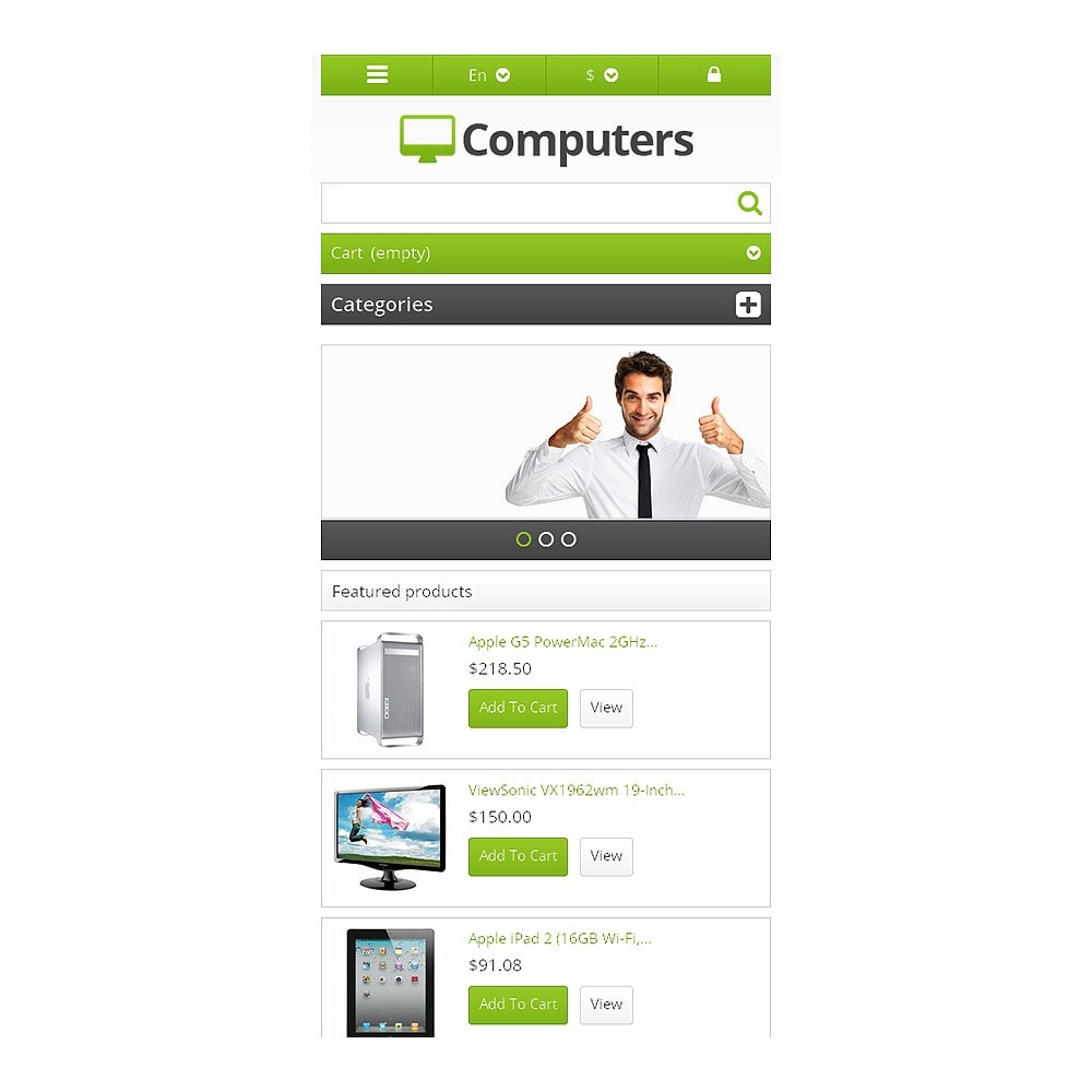 theme - Elektronik & High Tech - Responsive Computers Store - 8