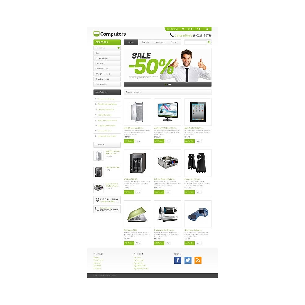 theme - Electronique & High Tech - Responsive Computers Store - 10