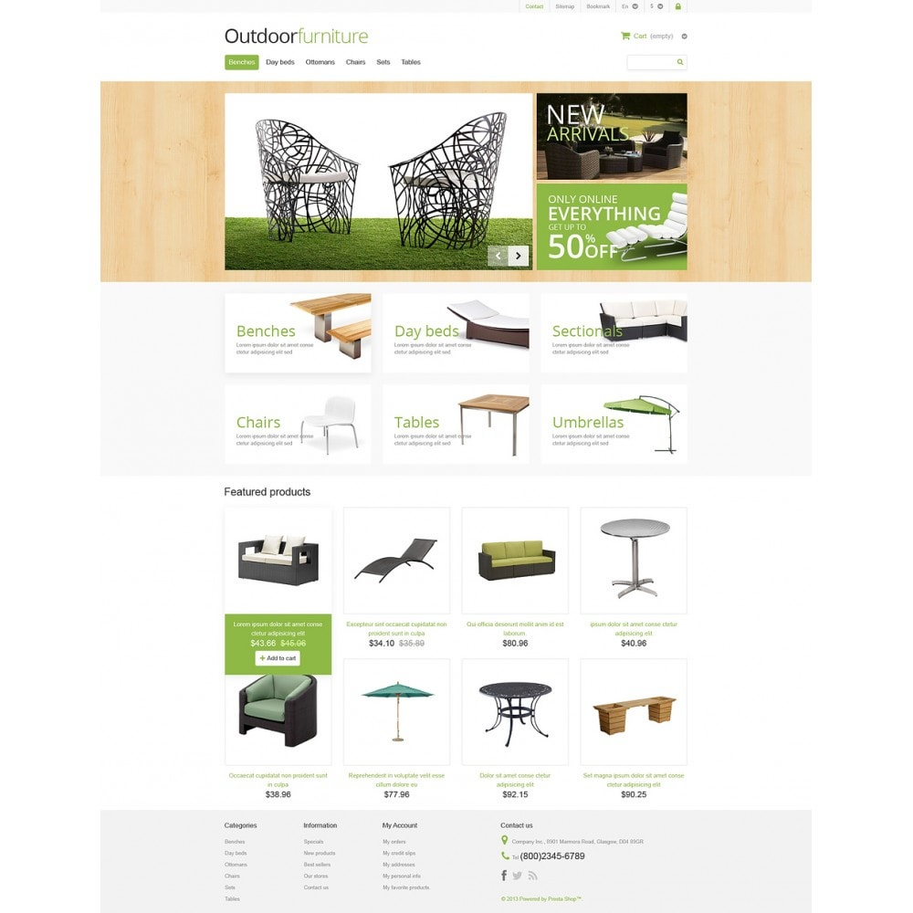 theme - Art & Culture - Outdoor Furniture Store - 2