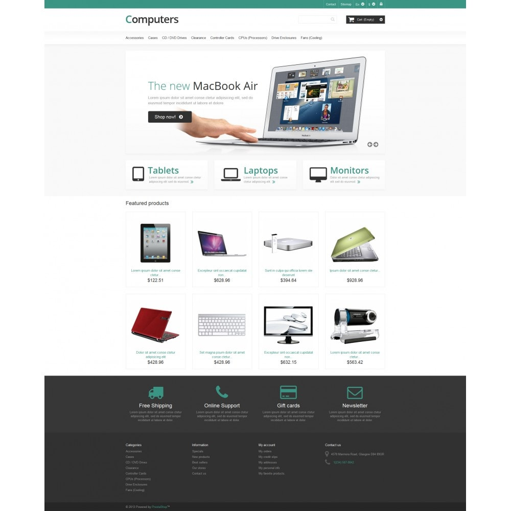 theme - Elettronica & High Tech - Responsive Computers Store - 4