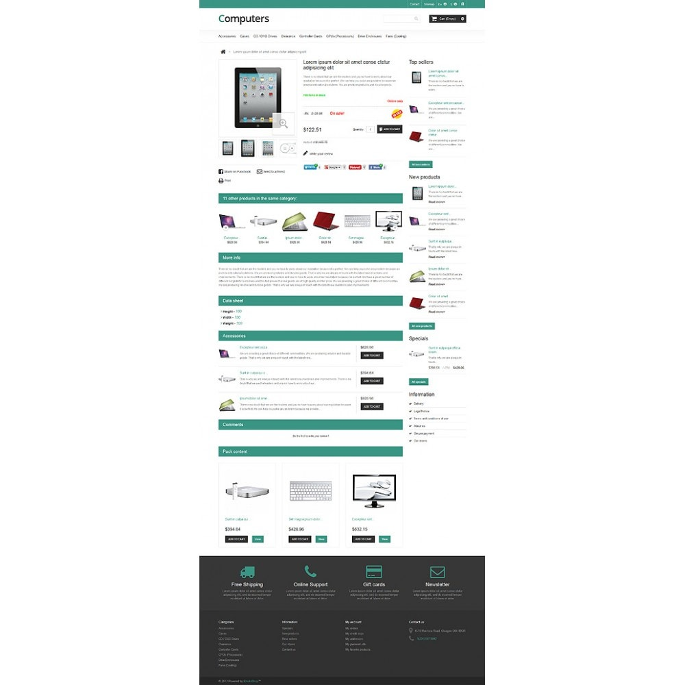theme - Elettronica & High Tech - Responsive Computers Store - 6