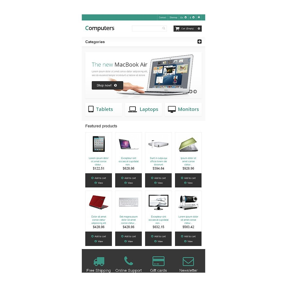 theme - Elettronica & High Tech - Responsive Computers Store - 7