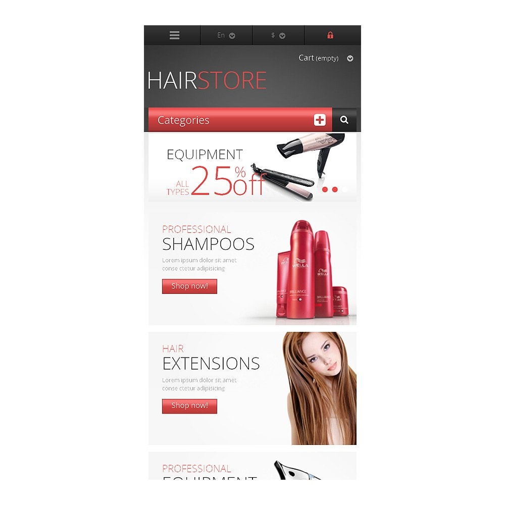theme - Mode & Schoenen - Responsive Hair Store - 8