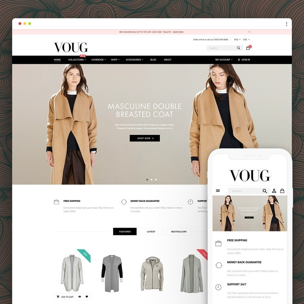 theme - Мода и обувь - Vogue - Fashion Store - 1
