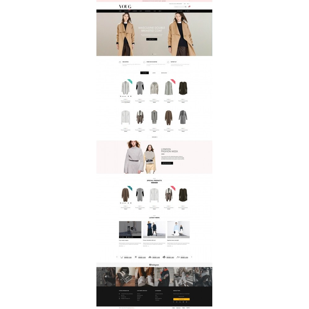 theme - Moda y Calzado - Vogue - Fashion Store - 2