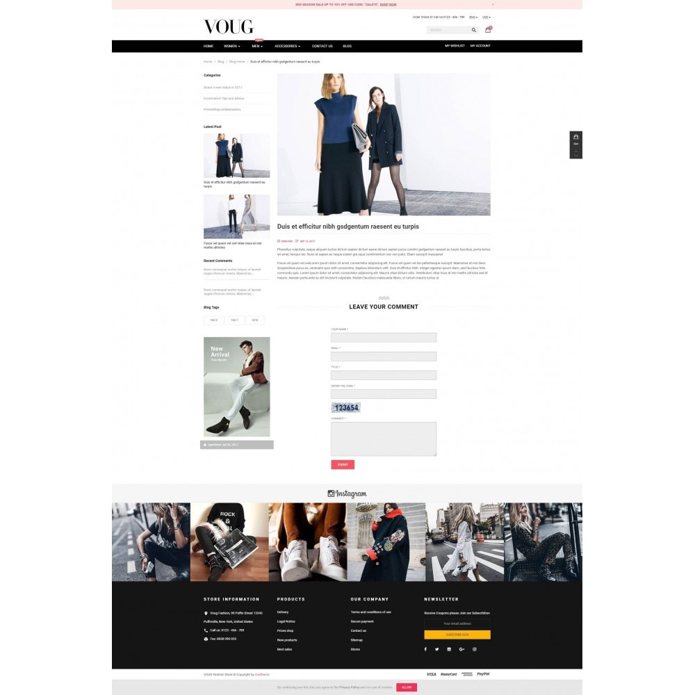 theme - Moda y Calzado - Vogue - Fashion Store - 5