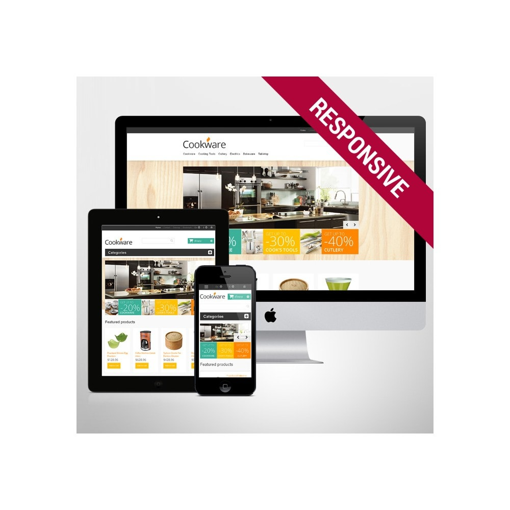 theme - Art & Culture - Responsive Cookware Store - 1