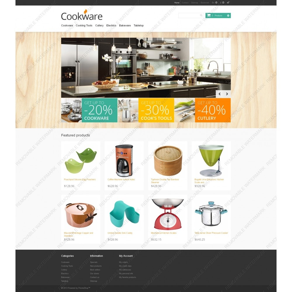 theme - Art & Culture - Responsive Cookware Store - 3
